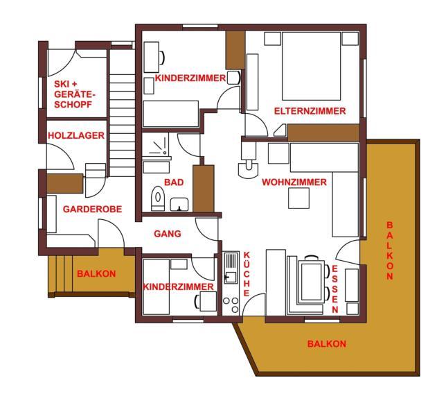 Die Obere 4,5 Zimmer Wohnung Bewohnen Wir Selber. Gerne Dürfen Sie Einen  Kleinen Virtuellen Rundgang Durch Die Räume Machen. Klicken Sie Einfach Auf  Die ...